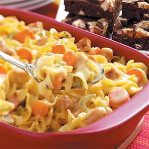 Hearty Chicken Noodle Casserole Recipe