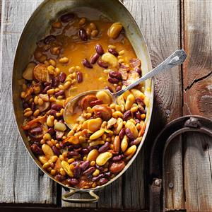 Hearty Maple Beans Recipe