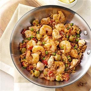 Hearty Paella Recipe