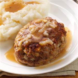 Hearty Salisbury Steaks Recipe