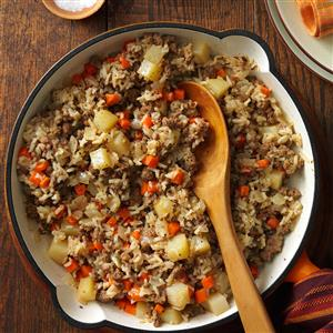 Hearty Skillet Supper Recipe
