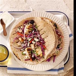 Heavenly Greek Tacos Recipe