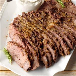 Herb-Crusted Chuck Roast Recipe