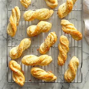 Herbed Bread Twists Recipe