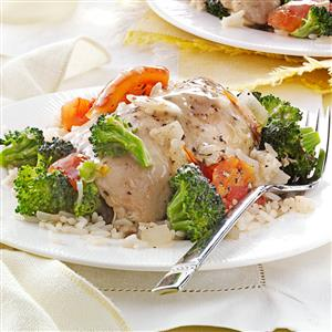 Herbed Chicken and Veggies Recipe