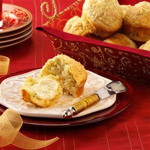 Herbed Dinner Roll Muffins Recipe