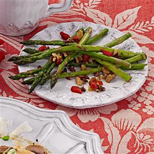 Herbed Fresh Asparagus Recipe