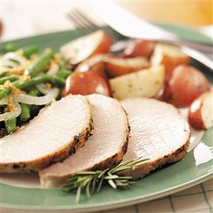Herbed Pork and Red Potatoes Recipe