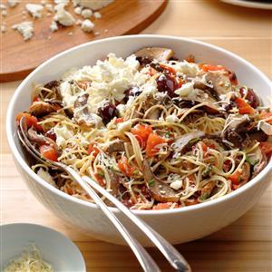 Herbed Portobello Pasta Recipe