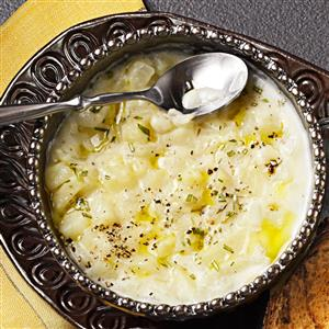 Herbed Potato Soup Recipe
