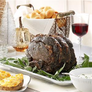 Herbed Roast Beef Recipe