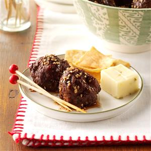 Hoisin Meatballs Recipe