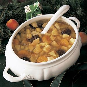 Holiday Fruit Soup Recipe