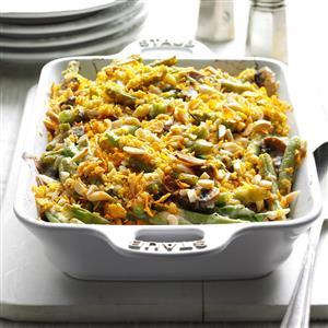 Holiday Green Bean Casserole Recipe