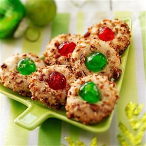 Holiday Thumbprint Cookies Recipe