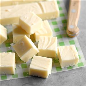 Holiday White Chocolate Fudge Recipe