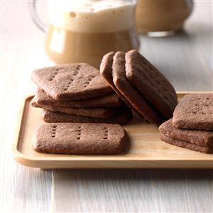 Homemade Chocolate Shortbread Recipe