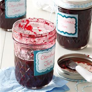 Homemade Christmas Jam Recipe
