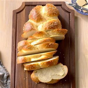 Homemade egg bread recipe taste of home homemade egg bread recipe forumfinder Images