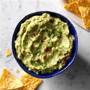 Homemade guacamole recipe taste of home homemade guacamole recipe forumfinder Images