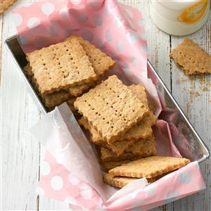 Homemade Honey Grahams Recipe