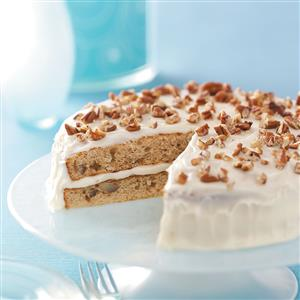 Homemade Makeover Italian Cream Cake