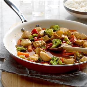 Honey Chicken Stir-Fry Recipe