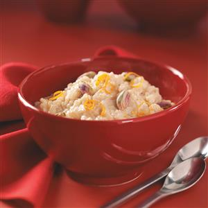 Honey-Orange Rice Pudding for Two Recipe