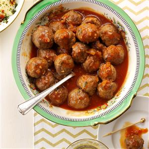 Horseradish Meatballs