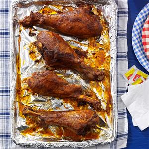 Hot & Spicy Turkey Legs Recipe