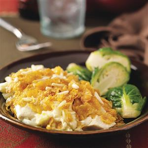 Hot Chicken Casserole Recipe