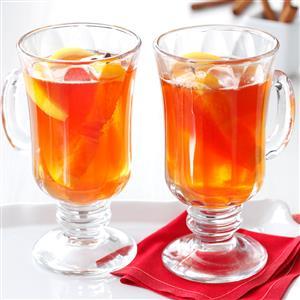 Hot Cran-Apple Cider Recipe
