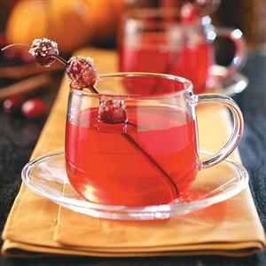 Hot Cranberry Tea Recipe