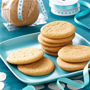 Icebox Honey Cookies Recipe