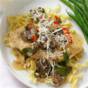 Italian Chicken Skillet Supper Recipe