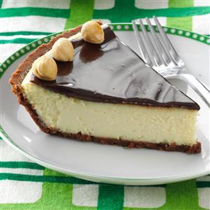 Italian Chocolate-Hazelnut Cheesecake Pie Recipe