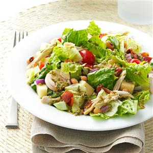 Italian Chopped Salad with Chicken Recipe