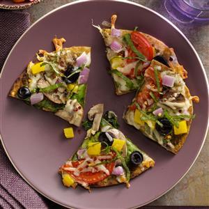 Italian Pesto Pizzas Recipe