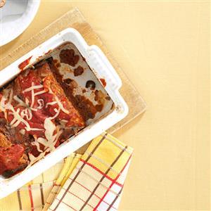Italian Pizza Meat Loaf Recipe