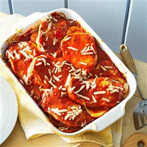 Italian Pork and Potato Casserole Recipe