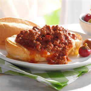 Italian Sausage Sloppy Joes Recipe