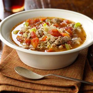 Italian Sausage and Orzo Soup Recipe