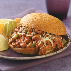 Italian Turkey Sloppy Joes
