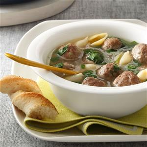Italian Wedding Soup Recipe | Taste of Home