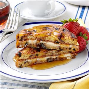 Jam 'n' Cream French Toast Recipe