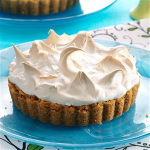 Key Lime Marshmallow Meringue Tarts Recipe