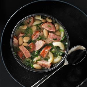 Kielbasa Spinach Soup Recipe