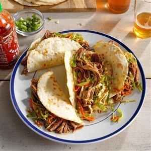 Korean Pulled Pork Tacos Recipe