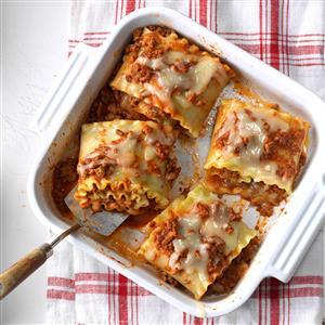 Lasagna Rolls Recipe