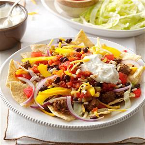 Layered Taco Salad Recipe